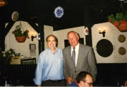 Miguel Sr with the great Sir Henry Cooper